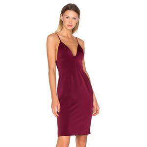 NEW NBD Heatwave Dress Red Small I15